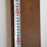 しかも、長さが25cmなのに重さが1㎏あり、ずっしりとしています。 そのため、この広いデッキ分となると相当な重量になります。
